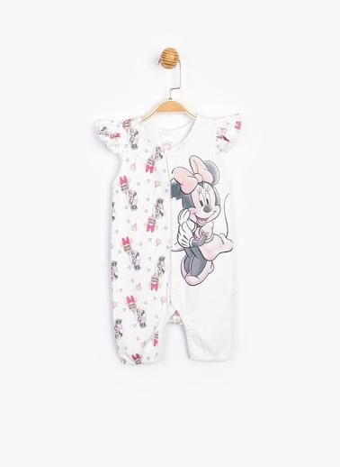 Minnie Mouse Tulum Beyaz